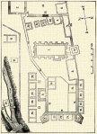 Plan fortificatie mediev Turda Veche apud O Balazs 1889